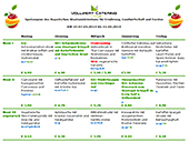 Vc-Vollwertkost Speiseplan Kantine